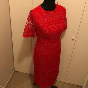 Dresses & Skirts - Gorgeous, red, unworn Eva Mendez for NY&Co Dress